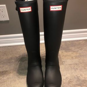 SOLD - Brand New Black Hunter Boots